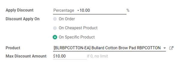 promotion discount percentage on specific product with max limit.png